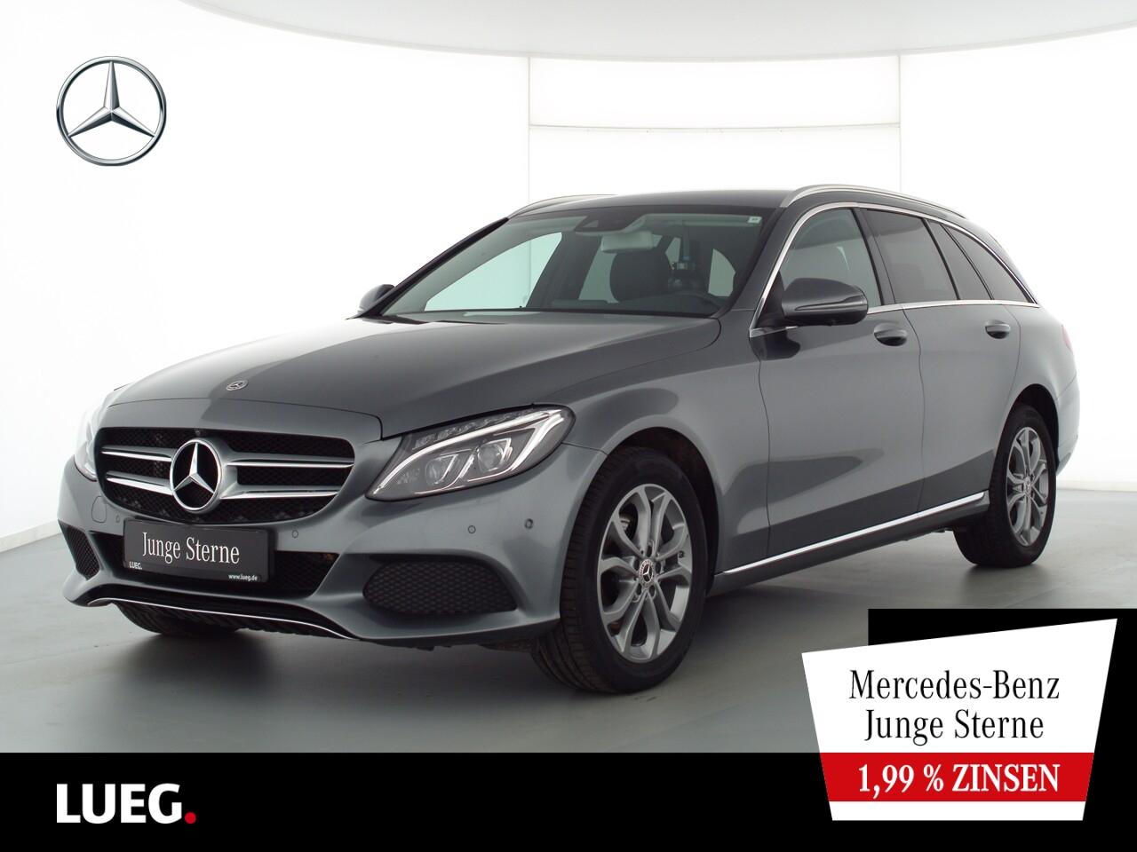 Mercedes-Benz C 220 d T 4M Avantgarde+Navi+LED-ILS+Memory+360°, Jahr 2018, Diesel