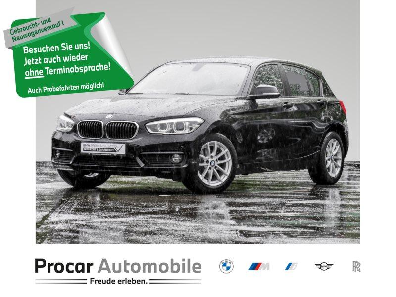 BMW 116i LED+NAVIGATION+SITZHEIZUNG+TEMPOMAT+BLUETOT, Jahr 2017, Benzin