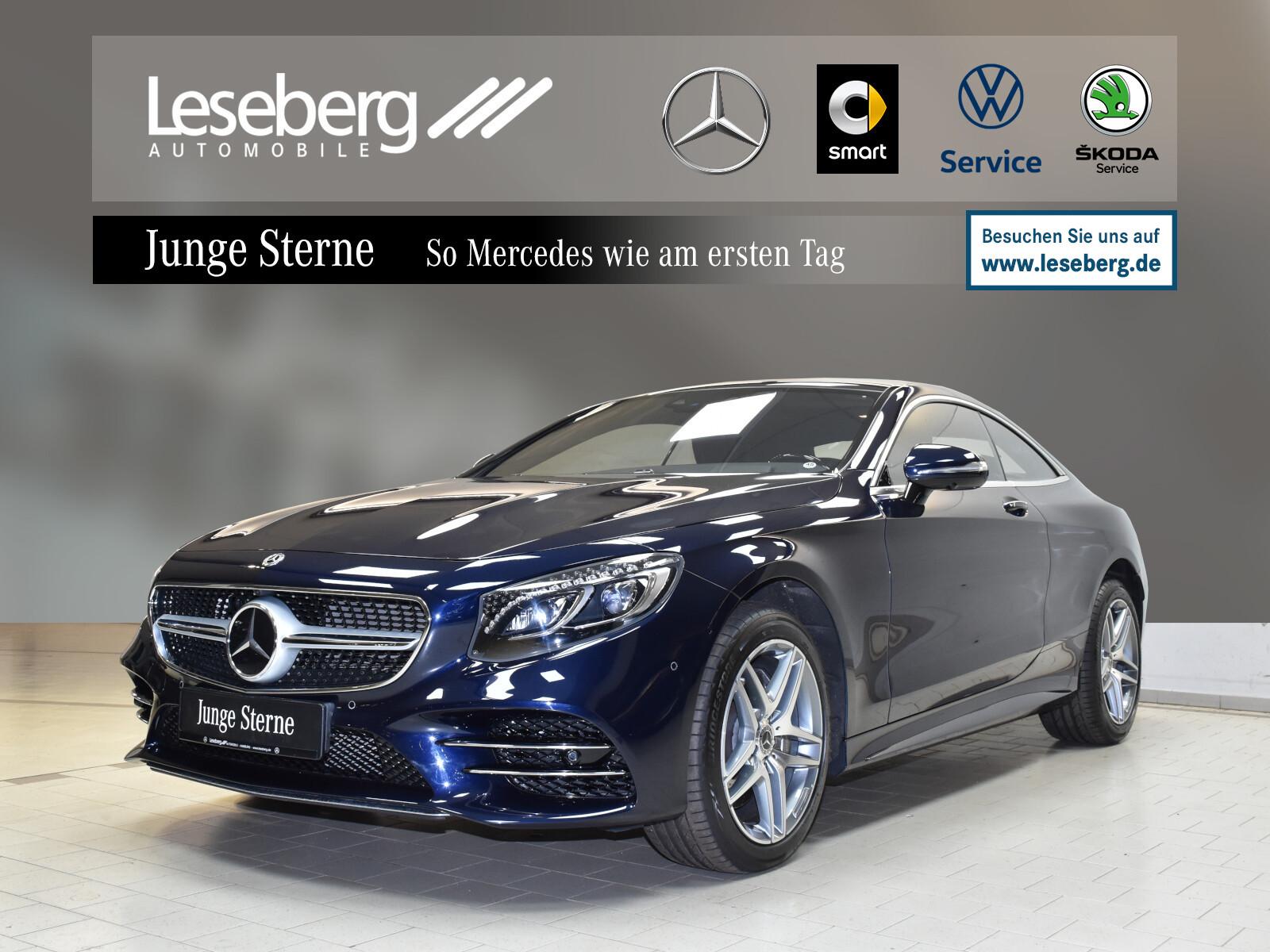 Mercedes-Benz S 560 4M Coupé AMG Line/Standhzg/360°/Fahrassis., Jahr 2020, Benzin