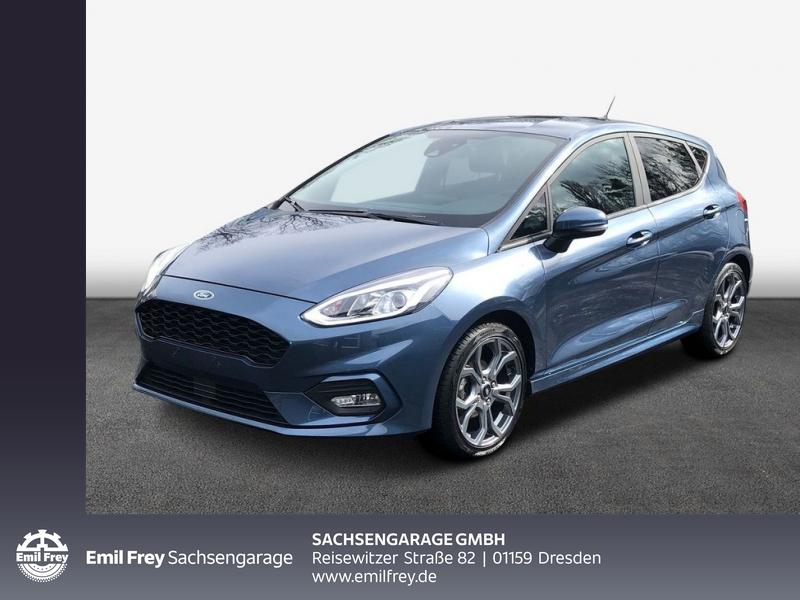 Ford Fiesta 1.0 EcoBoost S&S ST-LINE Navi Allwetter., Jahr 2020, Benzin