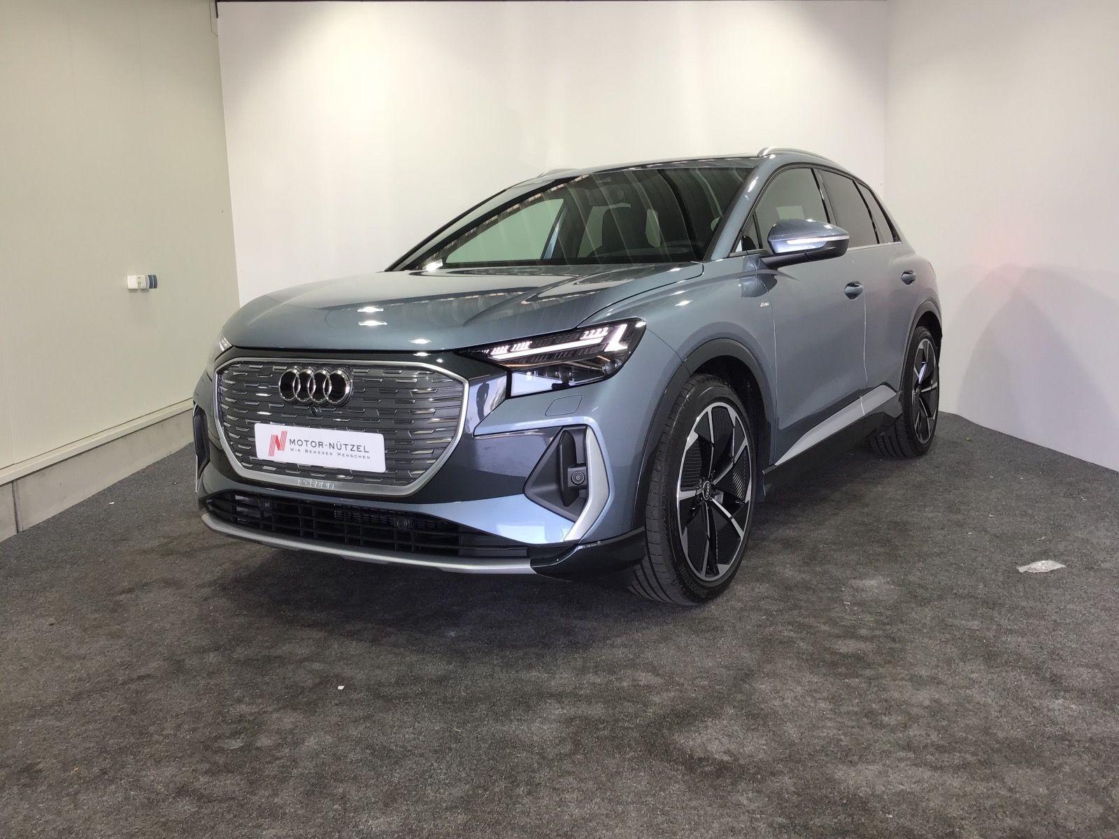 Audi e-tron Q4 50 e-tron quattro, Pano, Matrix, SONOS, Jahr 2021, Elektro