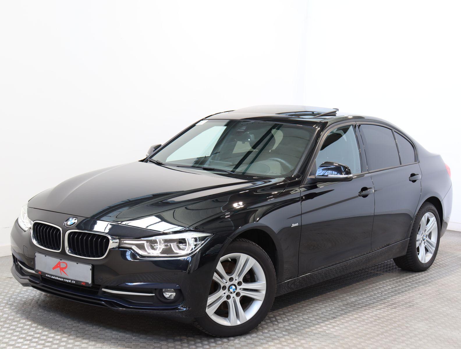 BMW 320 d xDrive SPORT LINE HEADUP,NAVIPROF,KEYLESS, Jahr 2017, Diesel
