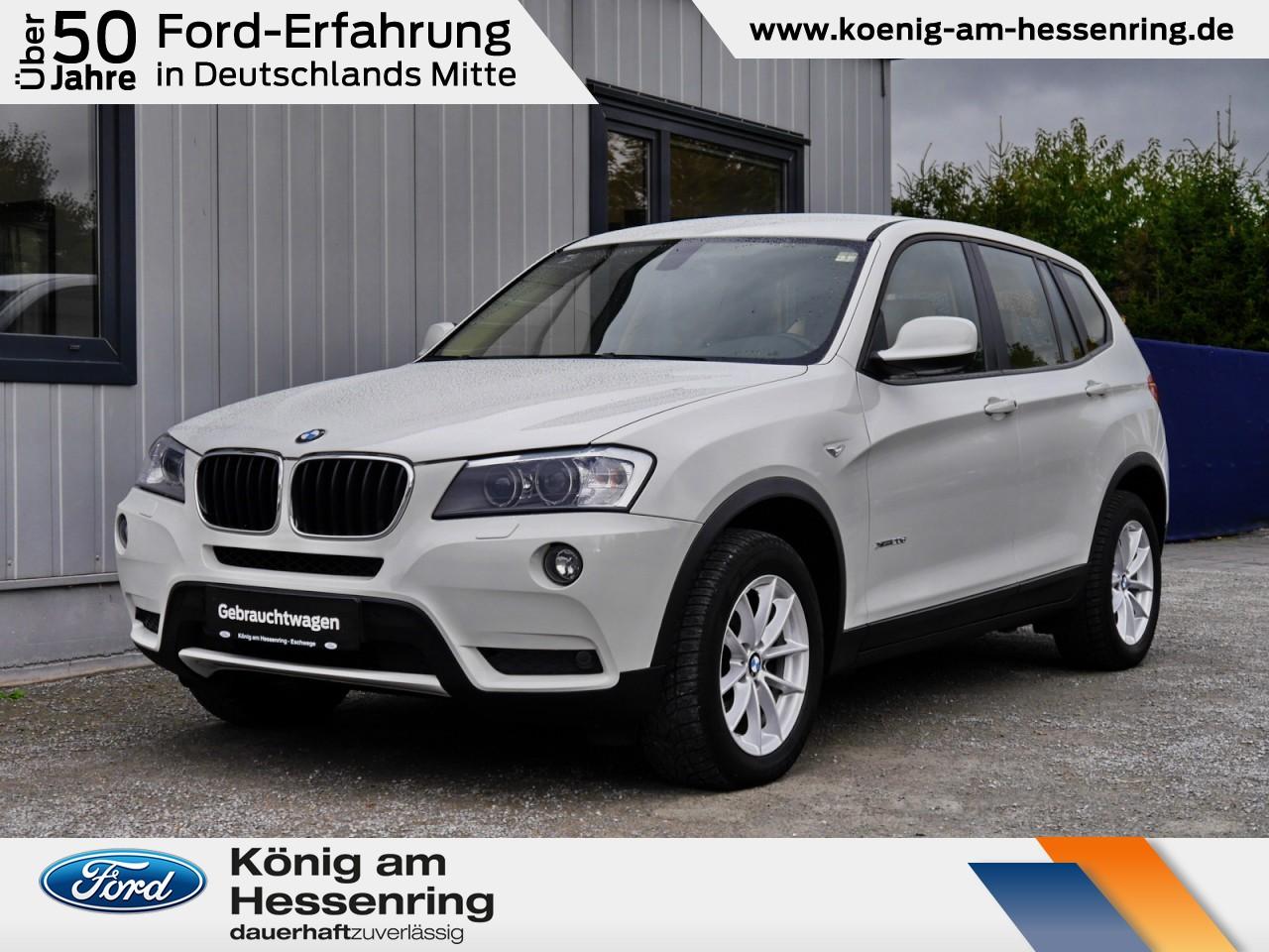 BMW X3 xDrive 20d Leder+Xenon+PDC+NAV+AHK+Sitzhzg, Jahr 2012, Diesel