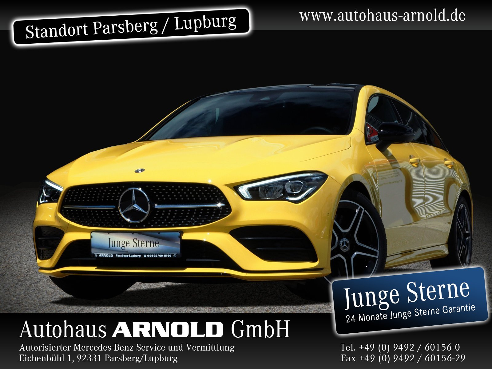 Mercedes-Benz CLA Shooting Brake 4M AMG Line Night Panoram, Jahr 2019, Benzin
