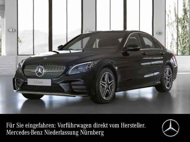 Mercedes-Benz C 200 4M AMG+MultiBeam+Kamera+Spur+Totw+Keyless+9G, Jahr 2021, Benzin