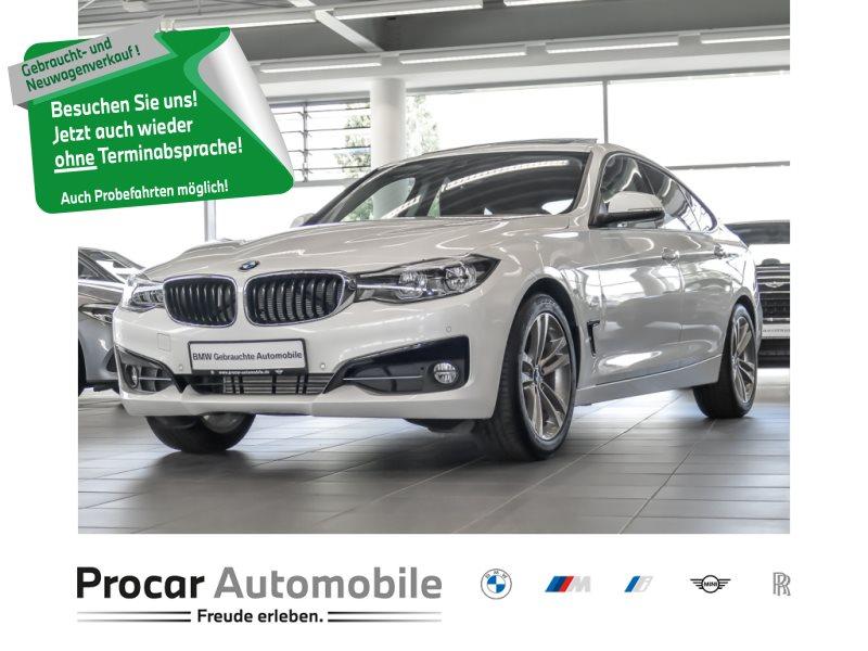 BMW 320d Gran Turismo Sport Line Head-Up RFK Pano, Jahr 2017, Diesel