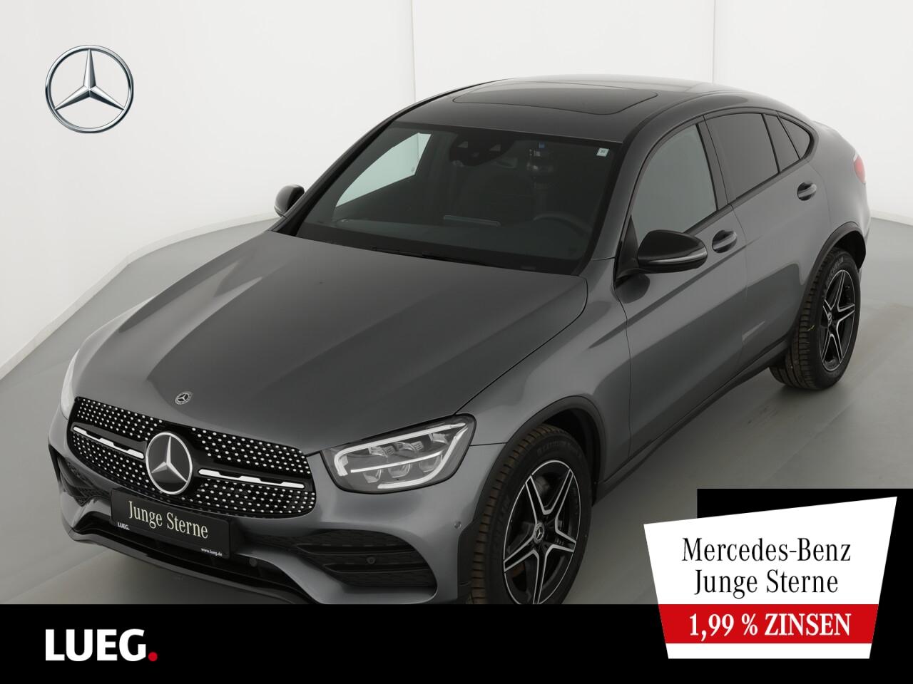 Mercedes-Benz GLC 300 4M Coupe AMG+MBUX+Navi+SHD+LED+Distr+RFK, Jahr 2020, Benzin