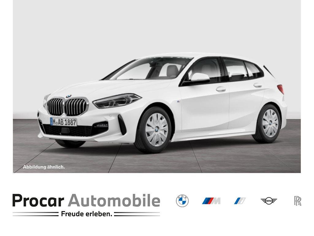 BMW 118i M-SPORT+HIFI+DAB+LED+WLAN+SHZ.+TEMPOMAT+KLIMAAUT, Jahr 2021, Benzin