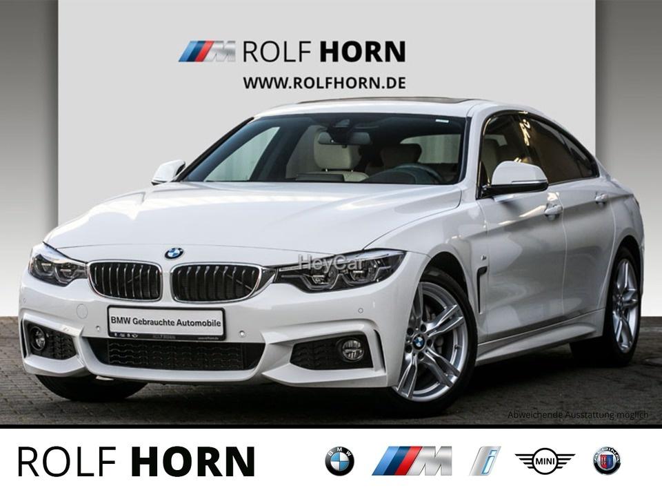 BMW 440i Gran Coupe M Sportpaket Navi Prof HUD Glasd, Jahr 2017, Benzin