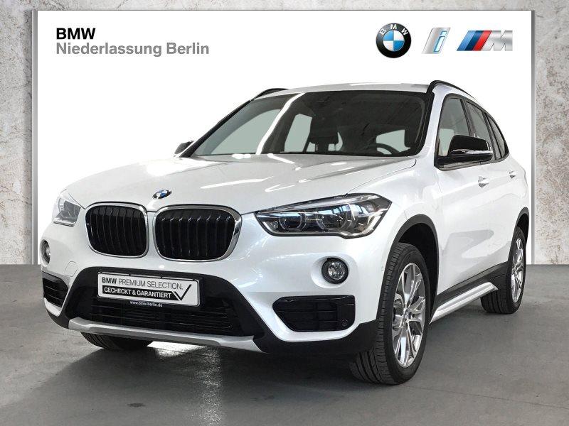 BMW X1 sDrive18d EU6 Aut. Sport Line LED Navi GSD, Jahr 2017, Diesel