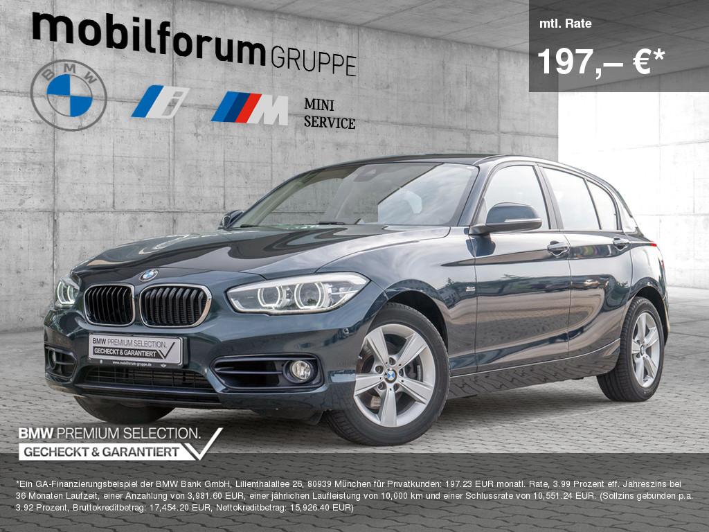 BMW 120d Sport Line, Jahr 2016, Diesel