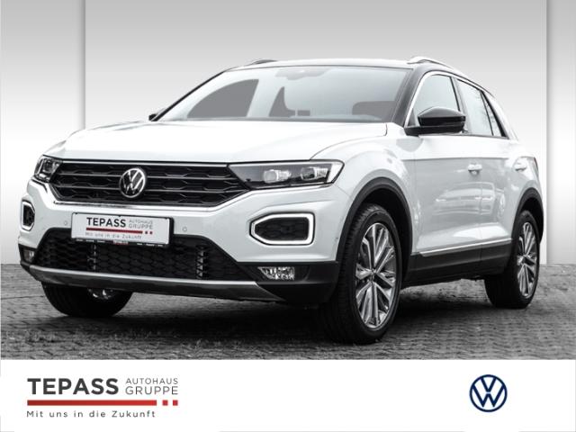 Volkswagen T-Roc 1.5 TSI DSG Style United LED+NAVI+AHK, Jahr 2021, Benzin
