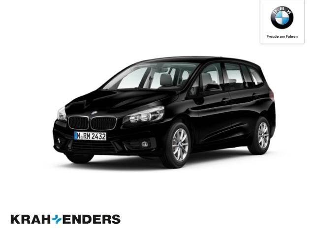 BMW 218 Gran Tourer d Advantage+Navi+Kollisionswarner+PDC+SHZ, Jahr 2016, Diesel