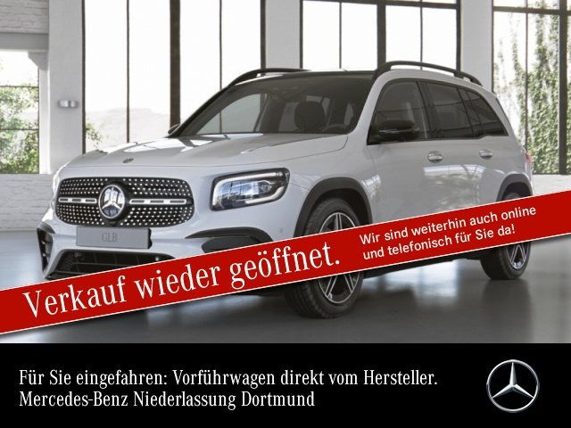 """Mercedes-Benz GLB 250 4MATIC Sport-AMG Night AMG 19"""" Pano-Dach, Jahr 2020, petrol"""
