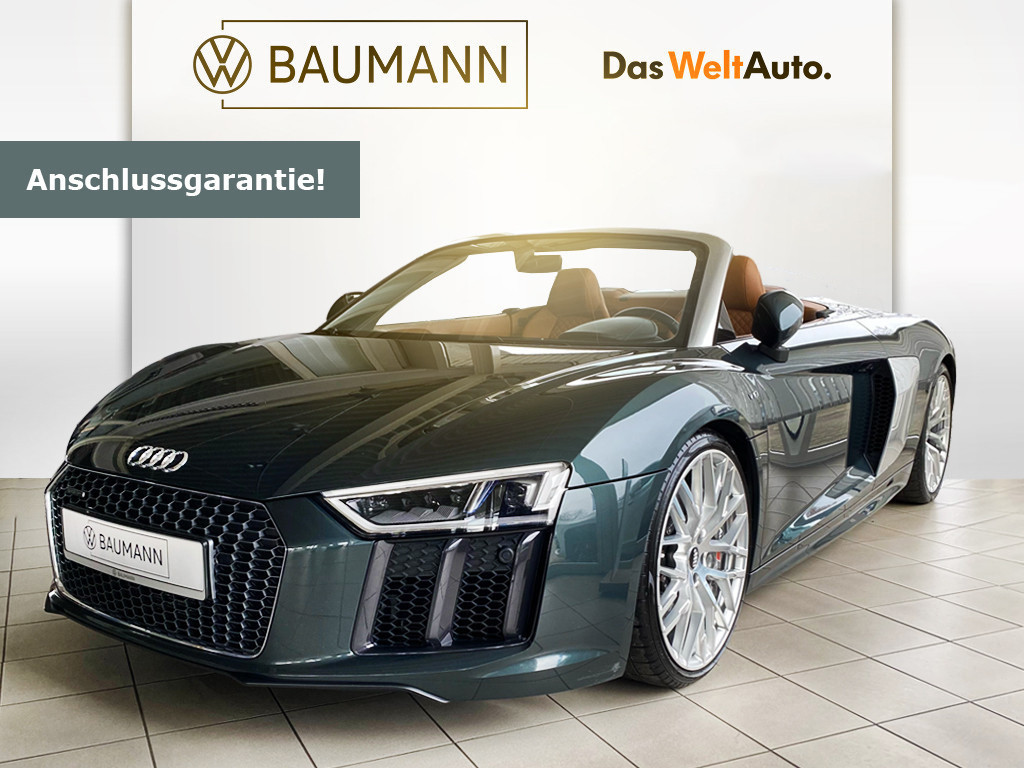 Audi R8 Spyder 5.2 FSI V10 quattro, Jahr 2018, Benzin