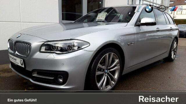 BMW 550iA Touring NaviProf,HUD,DAB,adapLED,H&K uvm, Jahr 2016, petrol