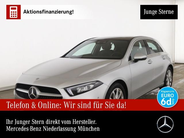 Mercedes-Benz A 160 Progressive Pano Navi Premium HUD LED PTS, Jahr 2020, Benzin