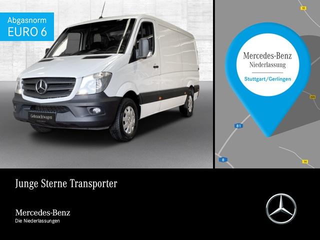 Mercedes-Benz Sprinter 214 CDI Kasten+Navi+Schwingsitz, Jahr 2017, Diesel