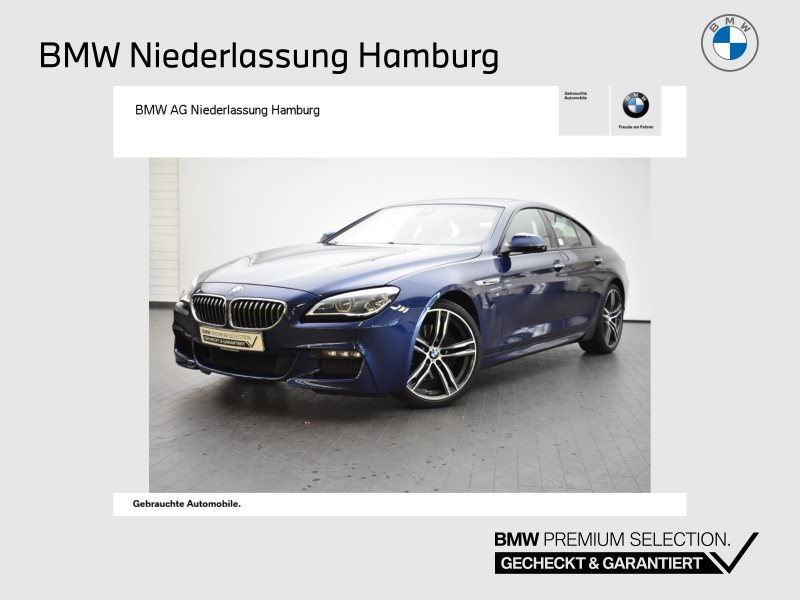 BMW 640d xDrive Gran Coupé Sportpaket Head-Up LED, Jahr 2017, Diesel