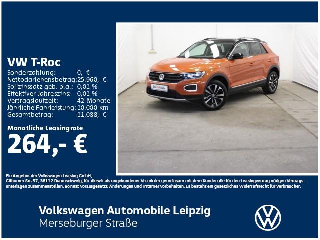 Volkswagen T-Roc 1.6 TDI IQ.DRIVE *LED*ACC*SHZ*Navi*, Jahr 2020, Diesel