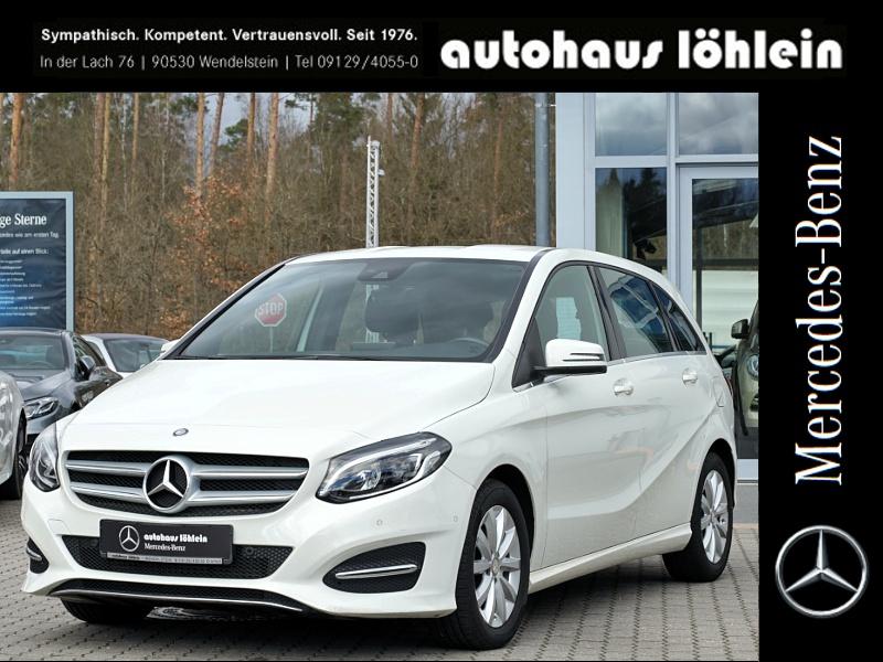 Mercedes-Benz B 180 CDI LED+PARKTRONIK+KLIMA Style+EUR6+AHK, Jahr 2015, Diesel