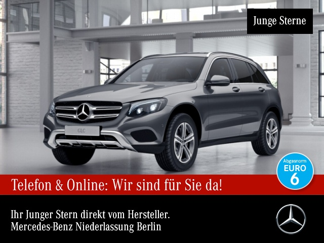 Mercedes-Benz GLC 250 4M AMG ILS LED AHK Kamera Navi Totwinkel, Jahr 2017, Benzin
