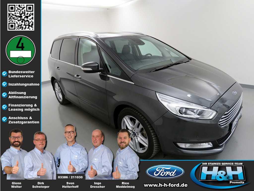 ford galaxy 2.0 ecoblue aut. titanium led,ahk,blis , jahr 2019, diesel