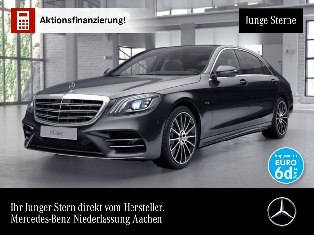 Mercedes-Benz S 600 L AMG Perf-Lenk Magic Sky Magic Body Fondent, Jahr 2018, Benzin