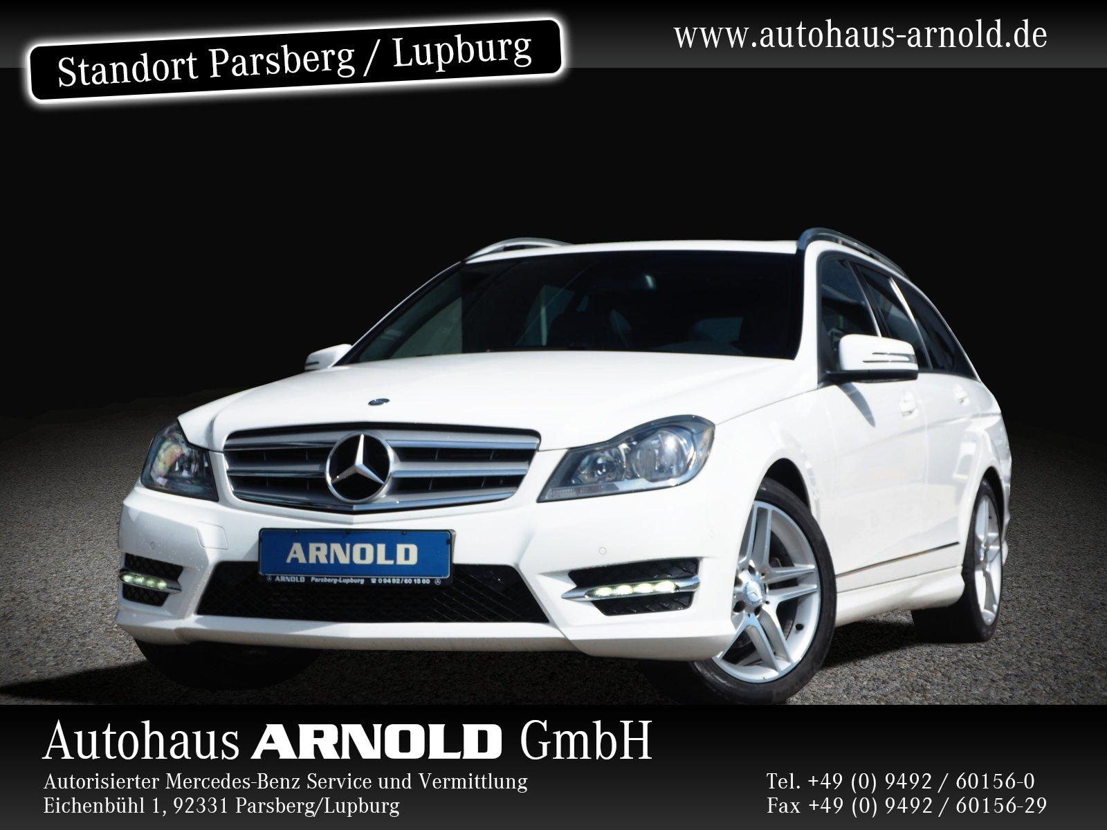 Mercedes-Benz C 220 CDI T AMG-Line SHD PTS Sitzh. Automatik, Jahr 2014, Diesel