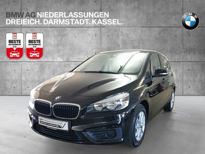 BMW 218i Active Tourer HiFi AHK Shz PDC, Jahr 2017, Benzin