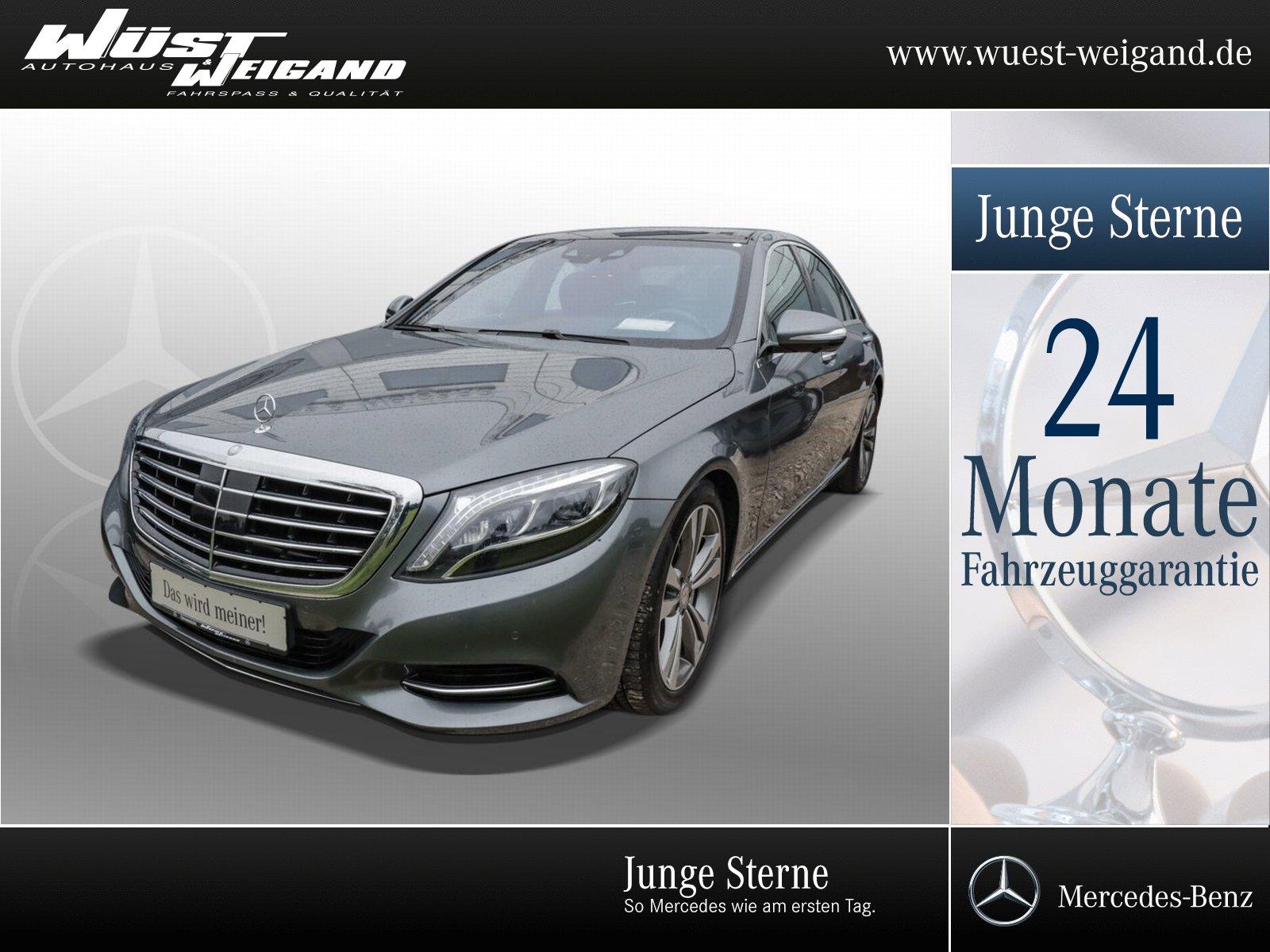 Mercedes-Benz S 400 4M Klima+Navi+LED+Pano.Dach+Memory+PTS, Jahr 2017, Benzin