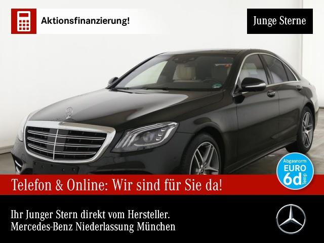 Mercedes-Benz S 560 4M AMG PANO FahrAssPaket BURMESTER HuD 23P, Jahr 2020, Benzin