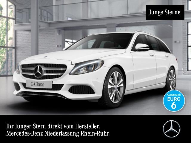 Mercedes-Benz C 200 T Avantgarde LED Kamera Navi PTS Sitzh Temp, Jahr 2016, Benzin