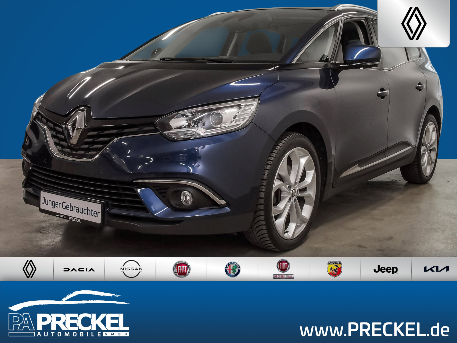 Renault Grand Scenic Intens TCe 130 AHK / Navi / Klima, Jahr 2018, Benzin