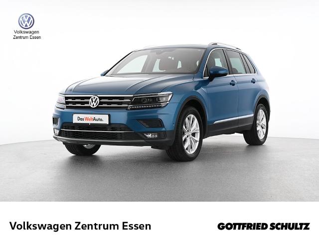 Volkswagen Tiguan Highline 1 4 TSI DSG 4Motion, Jahr 2018, Benzin