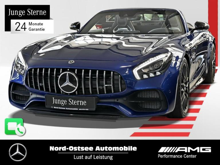 Mercedes-Benz AMG GT C Roadster Comand Burmester LED, Jahr 2018, Benzin