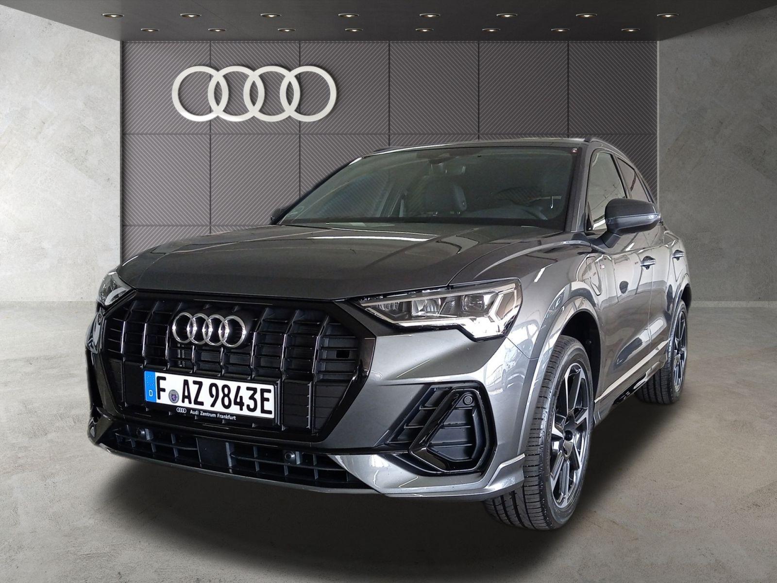 Audi Q3 45 TFSI e S line S tronic LED Pano Navi VC B&O, Jahr 2021, Hybrid