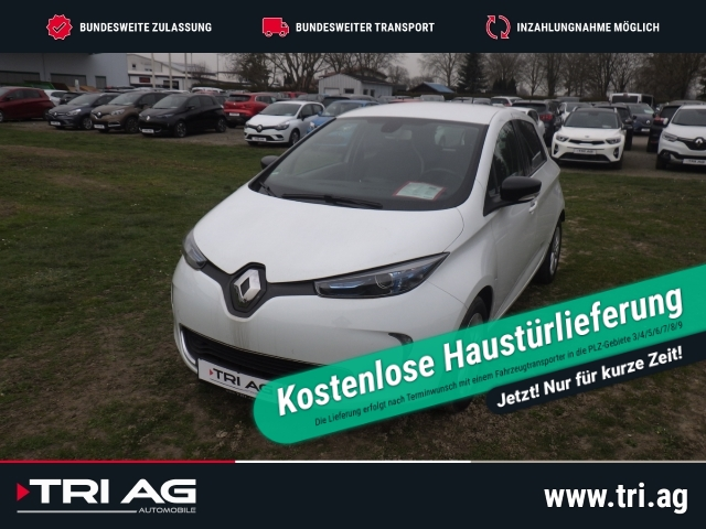 Renault ZOE Intens zzgl.Batteriemiete Navi Keyless Rückfahrkam. Klimaautom. LED Multif.Lenkrad RDC, Jahr 2016, Elektro