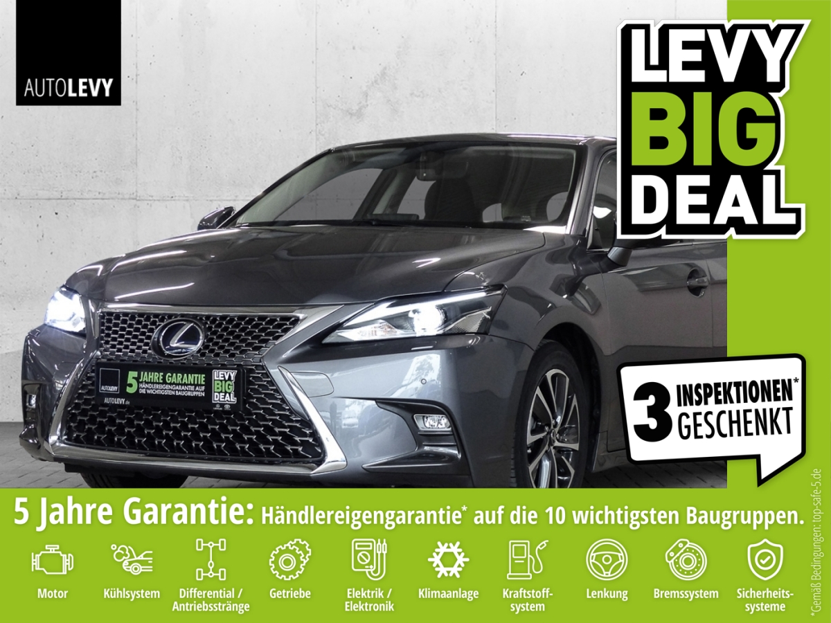 Lexus CT 200h Executive Line *NAVI*SHZ*RFK*LED*, Jahr 2018, Hybrid