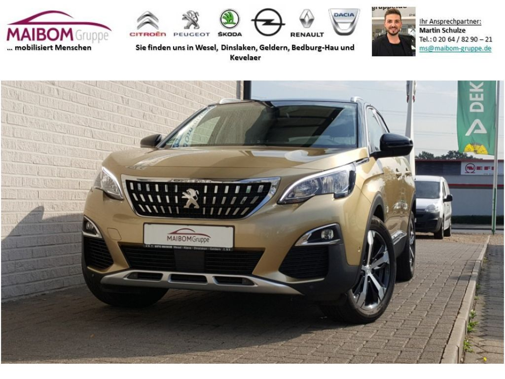 Peugeot 3008 PureTech 130 Stop & Start Allure, Jahr 2017, Benzin