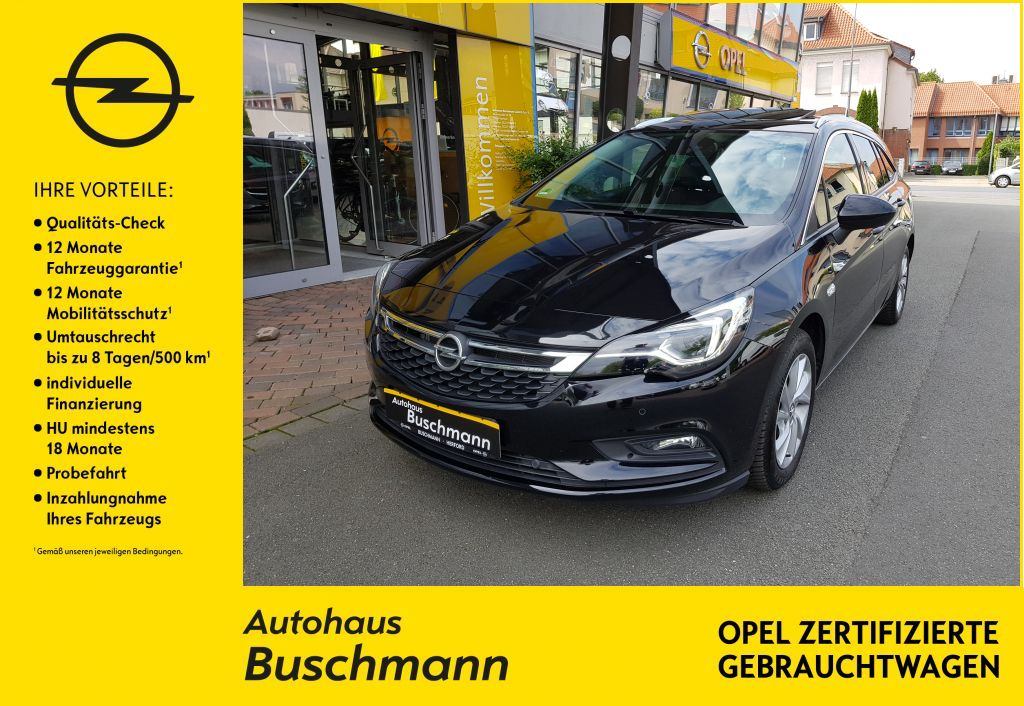 Opel Astra 1.6D AT ST Innovation, Jahr 2019, Diesel