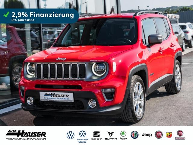 Jeep Renegade Limited 1.0 T-GDI 4x2 MT6 NAVI LED 18 ALU, Jahr 2019, Benzin