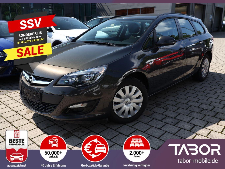 Opel Astra J 1.6 116 Selection CD400 Klima ZV, Jahr 2015, Benzin