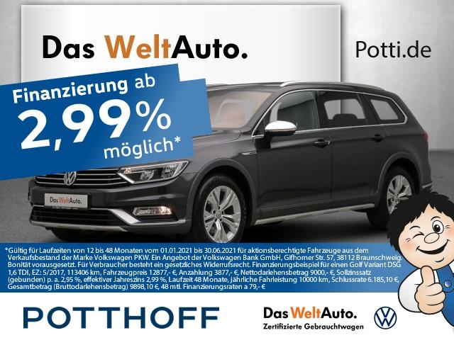 volkswagen passat variant dsg 2.0 tdi bmt 4m alltrack acc nav, jahr 2017, diesel