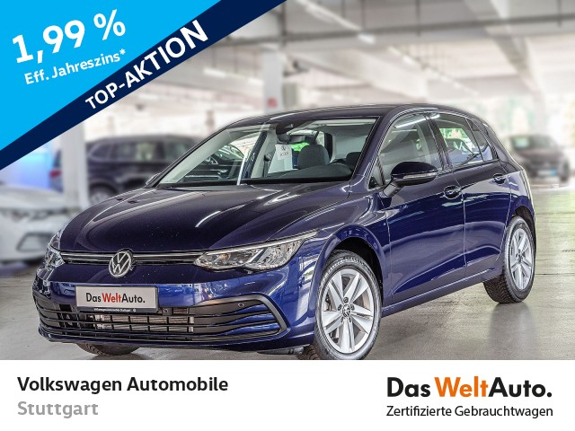 Volkswagen Golf 8 Life 1.5 TSI Navi ACC LED SHZ AID PDC, Jahr 2020, Benzin