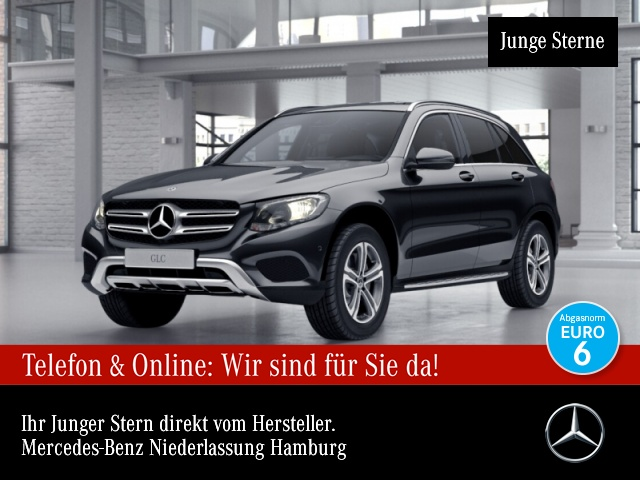 Mercedes-Benz GLC 220 d 4M COMAND AHK Kamera PTS Easy-Pack 9G, Jahr 2017, Diesel