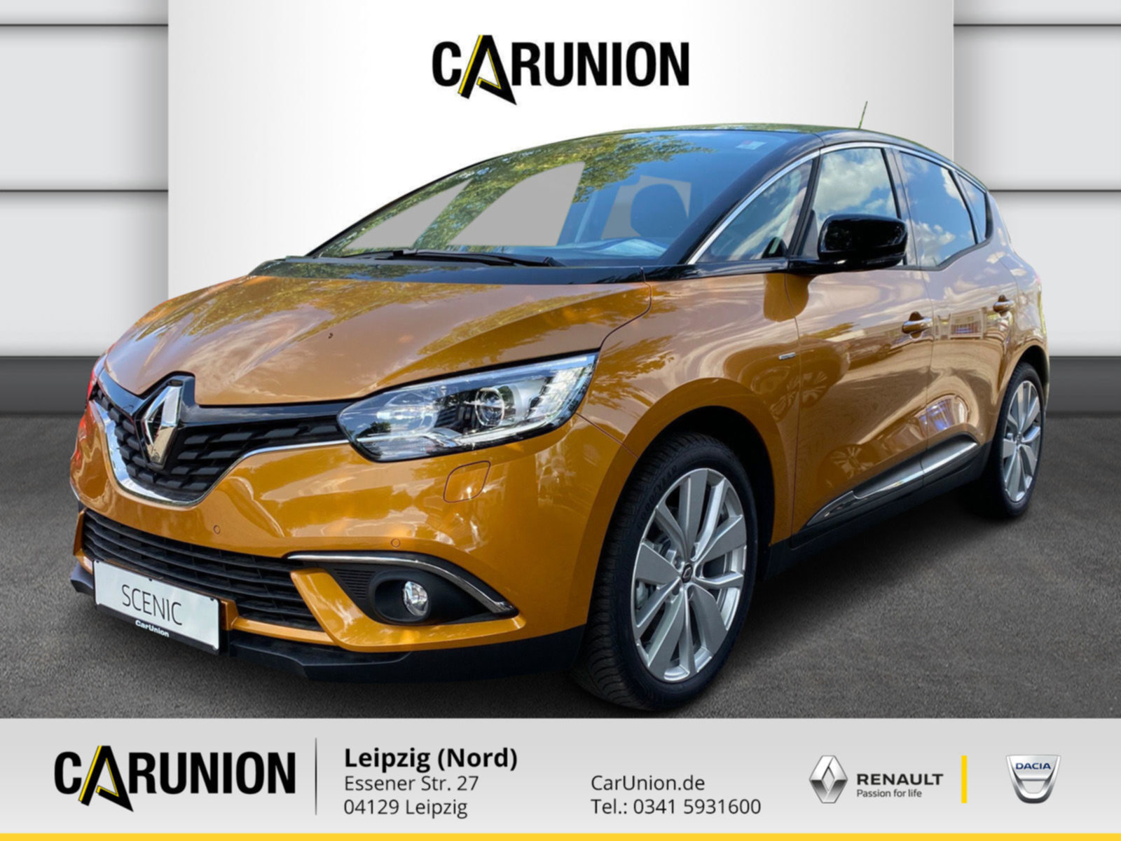 Renault Scenic LIMITED Deluxe TCe 140 GPF PDC,KLIMA,NAVI, Jahr 2020, Benzin