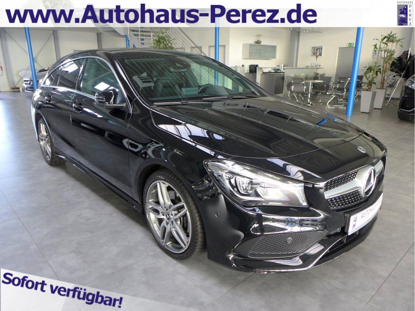 Mercedes-Benz CLA 250 Shooting Brake 7-G AMG NAVI-LED-SHZ-PTS, Jahr 2018, Benzin