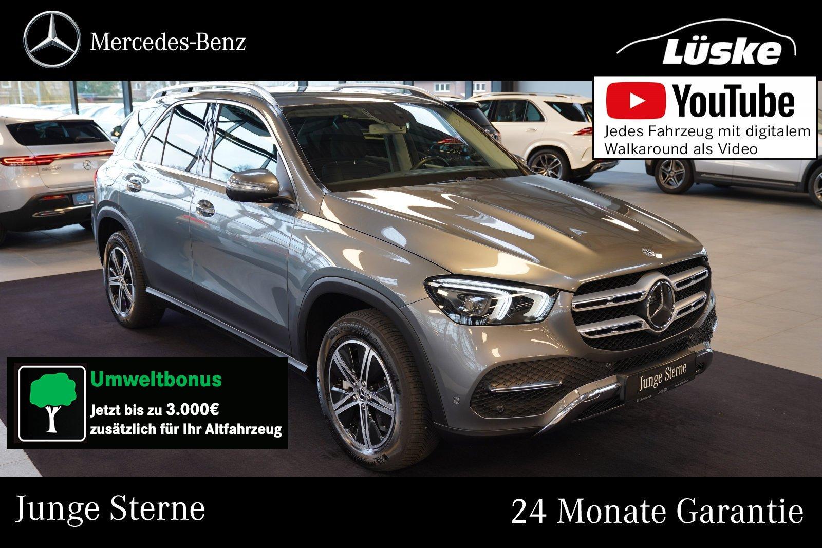 Mercedes-Benz GLE 300 d 4M Standheizung AHK Assistenz Distroni, Jahr 2019, Diesel