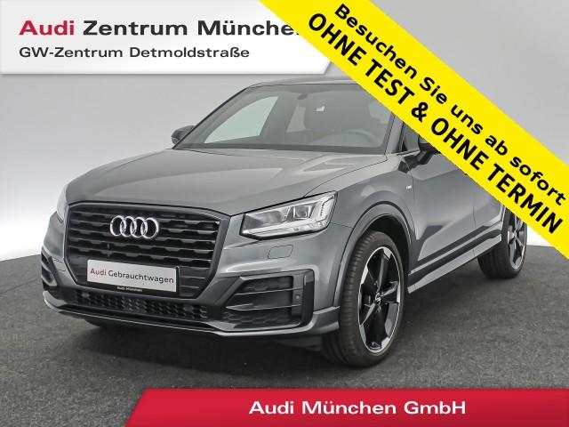 """Audi Q2 1.4 TFSI Sport S line #comfort LED Navi Teilleder 19"""" 6-Gang, Jahr 2018, petrol"""